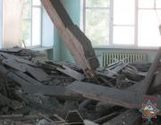 В центральной библиотеке Молодечно обрушился потолок
