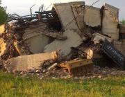 Из-за падения водонапорной башни в Смиловичах без воды остались 180 жилых домов, школа и два детсада