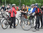 В Бресте состоялся первый в Беларуси международный велофестиваль