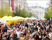 На уличной ярмарке в Вильнюсе оплатить товар можно будет с помощью мобильника