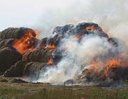 В Гродно из-за детской шалости сгорело 90 т соломы