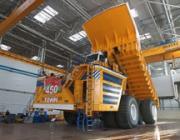 Первый 450-тонный БелАЗ запущен в эксплуатацию