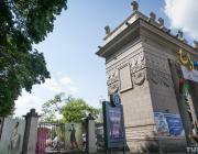 В минском парке Горького неизвестные вырезали «Ожившие картины»