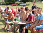 Любительский волейбол в Лунине. Победителем стала команда из Редигерова