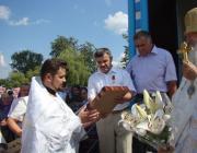 Освящён храм Успения Пресвятой Богородицы в деревне Валище