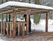 В ГЛХУ «Столинский лесхоз» готовятся к подкормке диких животных