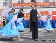 Дзень Незалежнасці ў Лунінцы: горача і немнагалюдна