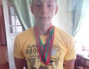 15-летний спортсмен из Лунинецкого района победил на спартакиаде по гребле на байдарках и каноэ