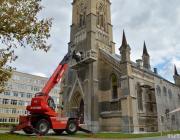 В Гродно возобновились работы по реставрации лютеранской кирхи