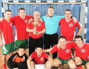 Cтолинские медики оказались сильнейшими в чемпионате района по мини-футболу