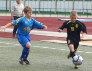 На стадионе «Полесье» в Лунинце прошли зональные игры первенства области по футболу среди детей