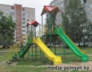 Детские площадки в Лунинце – на контроле ЖКХ