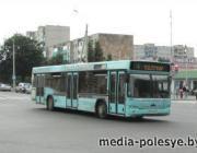 Общественный транспорт в мартовские праздники на Пинщине