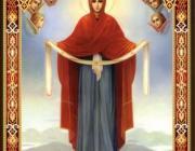 Покров Божией Матери. В ряде храмов Столинского района - престольный праздник