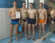 В Столинском «Аквамарине» в плавании соревновались силовики района
