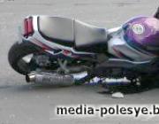 Подросток на мотоцикле пострадал в ДТП в Синкевичах