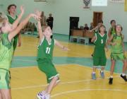 Столинские спортсменки приняли участие в баскетбольной лиге Ровенской области