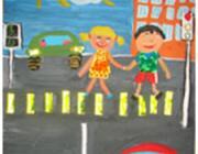 ГАИ Брестской области проводит конкурс детского рисунка