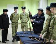Пограничники встретились с жителями деревни Городная