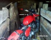 17-летний мотоциклист из Лунинецкого района сбил пешехода и скрылся