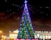 Главная елка Беларуси вошла в топ-5 самых высоких новогодних елей СНГ