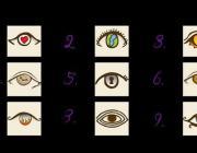Веселый тест: Выберите изображение глаза – и узнаете о себе много нового!