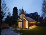 Белорусская часовня в Лондоне стала лучшим религиозным зданием года. Это архитектурный «Оскар»