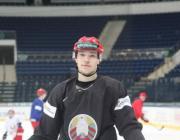 Белорусский хоккеист стал лучшим среди новичков КХЛ