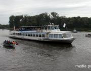 Парад речных судов и лодок прошёл в Пинске
