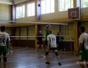 Победителем турнира по волейболу среди ветеранов спорта стала команда из Лунинца