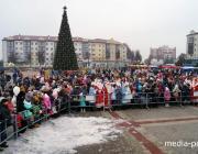 Стало известно, когда в Пинске откроют главную новогоднюю ёлку
