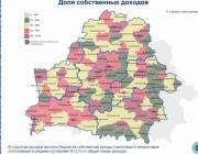 Насколько самостоятельно обеспечивают себя города Полесья
