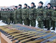 100 новобранцев прибыли в Пинский погранотряд