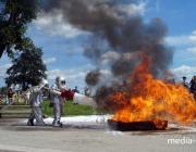 Пинчане смогут увидеть технику и работу огнеборцев в юбилей пожарной службы