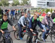 В Пинске закрыли велосезон-2018