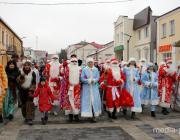 Как по Пинску Деды Морозы ходили
