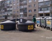 Было – стало. Что изменилось за год на открытых площадках по сбору мусора в Пинске