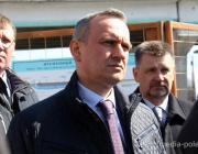 Строительство пинского моста проинспектировал министр