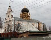 На Варваринской церкви в Пинске заменили купол
