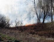 Пинщина – в дыму пожаров