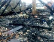 Три человека едва не стали жертвами огня из-за короткого замыкания электропроводки