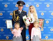 Семья из Столина – победитель областного этапа конкурса МВД