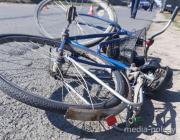 Велосипедист погиб в аварии в Ольшанах