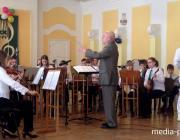 Образцовый оркестр народных инструментов Лунинецкой ДШИ – один из лучших в области