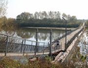 В Столинском районе на Горыни развели мосты