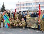 Воины-афганцы Пинщины встретили 30-летие вывода войск из Афганистана