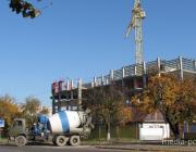 Что строят на улице Рокоссовского в Пинске?