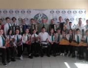 Образцовый оркестр народных инструментов блестяще выступил на музыкальном конкурсе