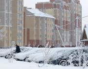 Из-за снегопада  - перебои с электричеством и водоснабжением