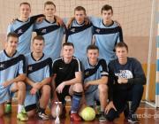 Лунинецкий ГПТК СП – победитель областного турнира по мини-футболу, пинчане - вторые